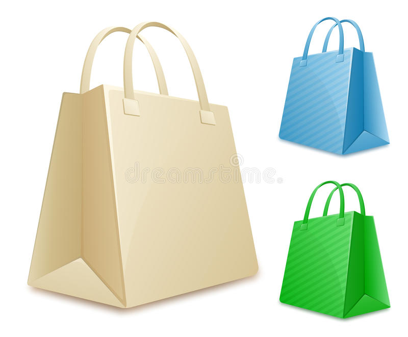 Download Collection Of Shopping Bags Stock Vector - Image: 17982779