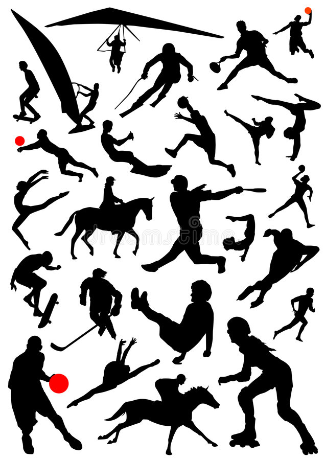 Download Collection Of Sports Vector 2 Stock Vector - Illustration of black, competition: 3656946