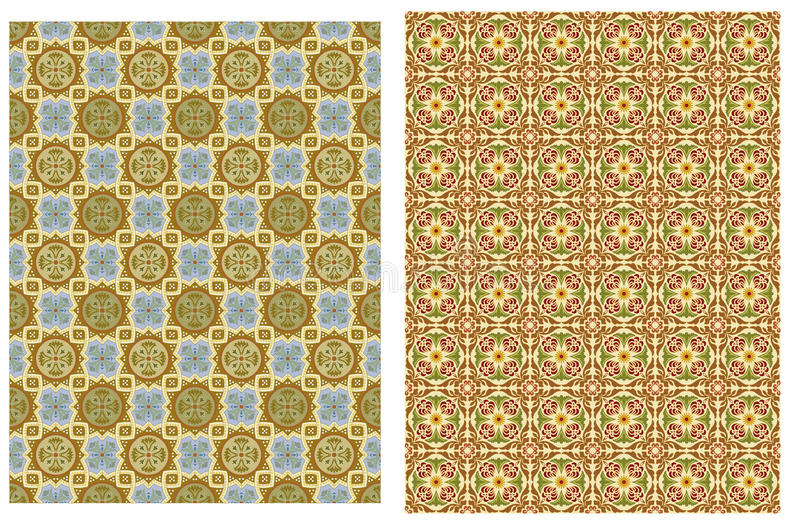 Collection textile background