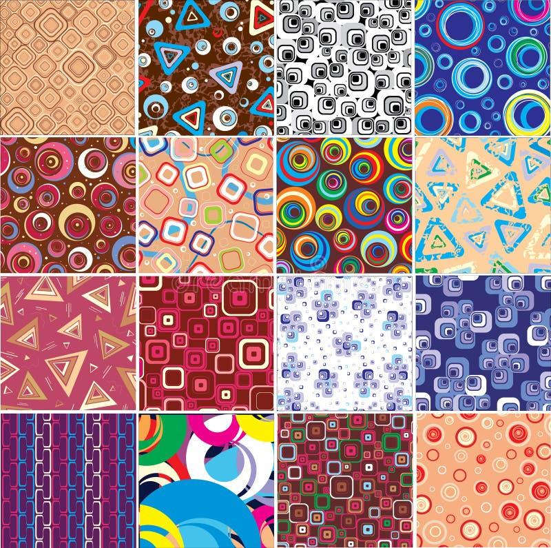 Collection textures. royalty free stock photos