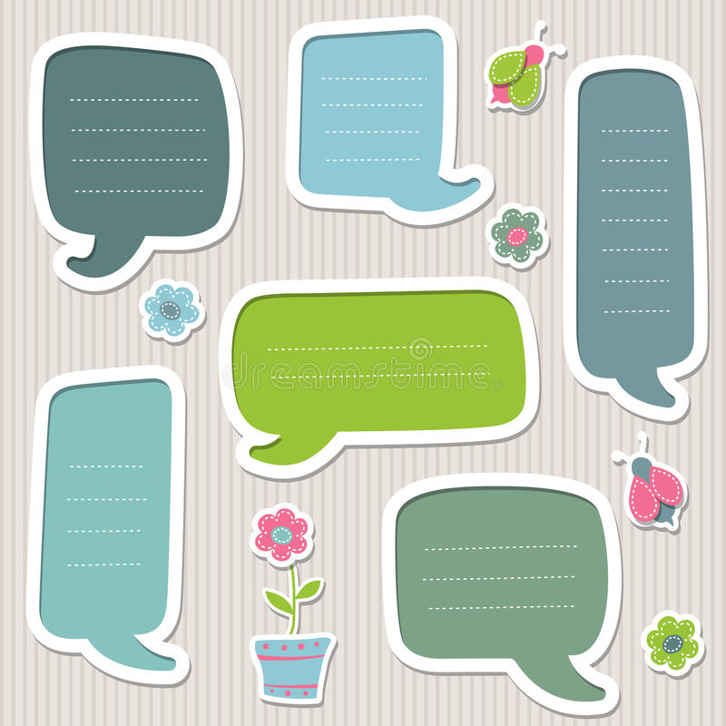 Download Collection Of Vector Text Frames Stock Vector - Illustration: 24983077