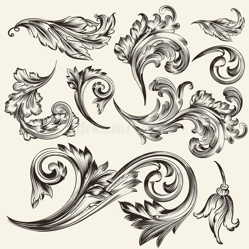 Filigree Frame Tattoo Design