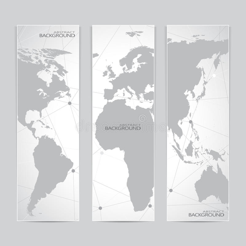 Collection vertical banner design world map stock vector download collection vertical banner design world map stock vector illustration of communication europe gumiabroncs Choice Image