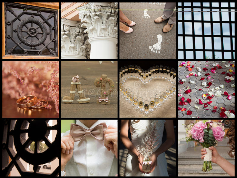 Download Collection Of Wedding Details Stock Image - Image: 30611577