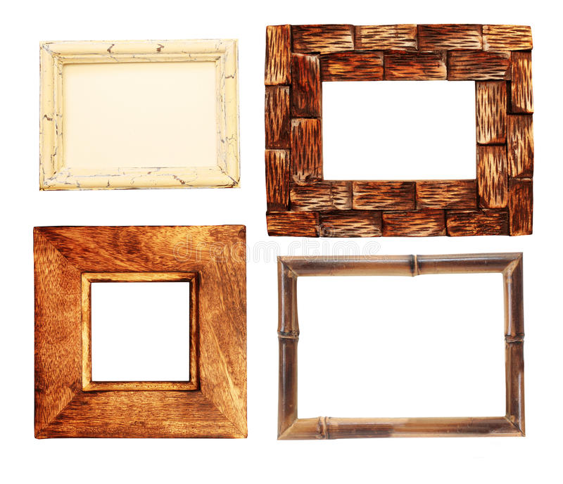 Download Collection Of Wooden Frames Stock Image - Image: 29155077