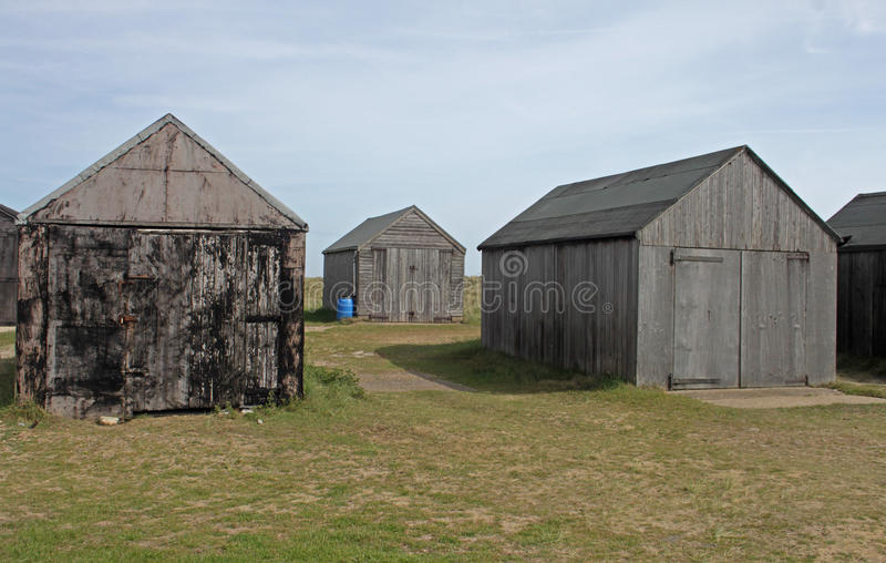 Download Collection Of Wooden Sheds, Texture Interest. Stock Photo - Image: 46865126