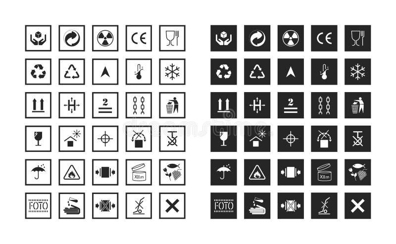 Commodity and manipulation symbols. stock illustration
