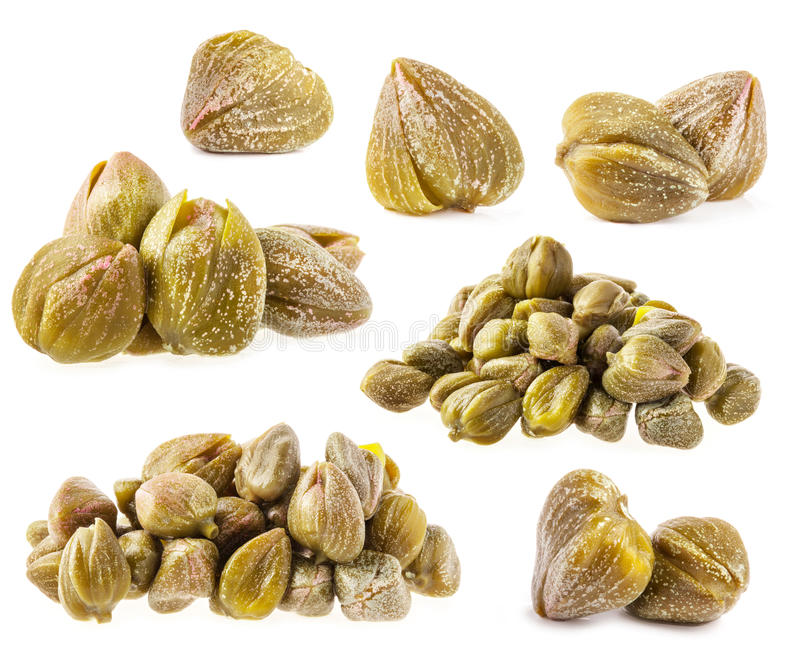Collections of capers stock photos