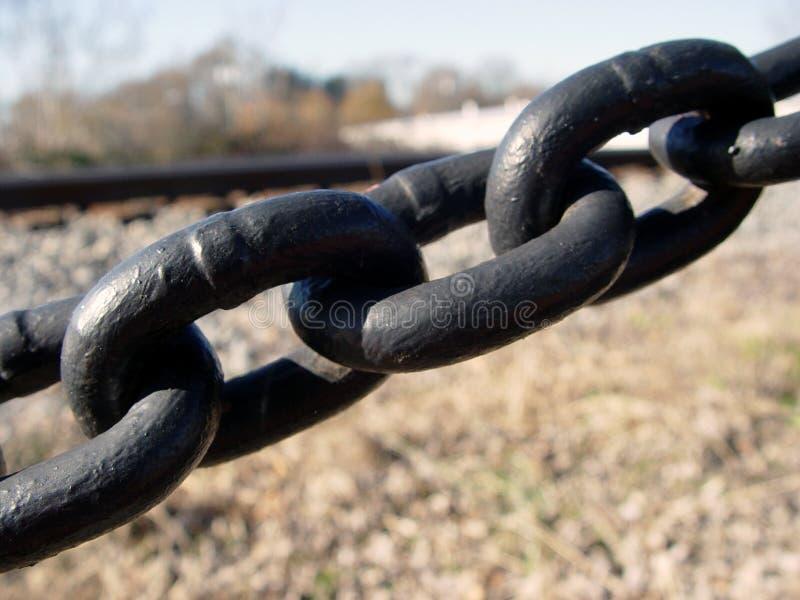 Collegamenti Chain fotografia stock libera da diritti