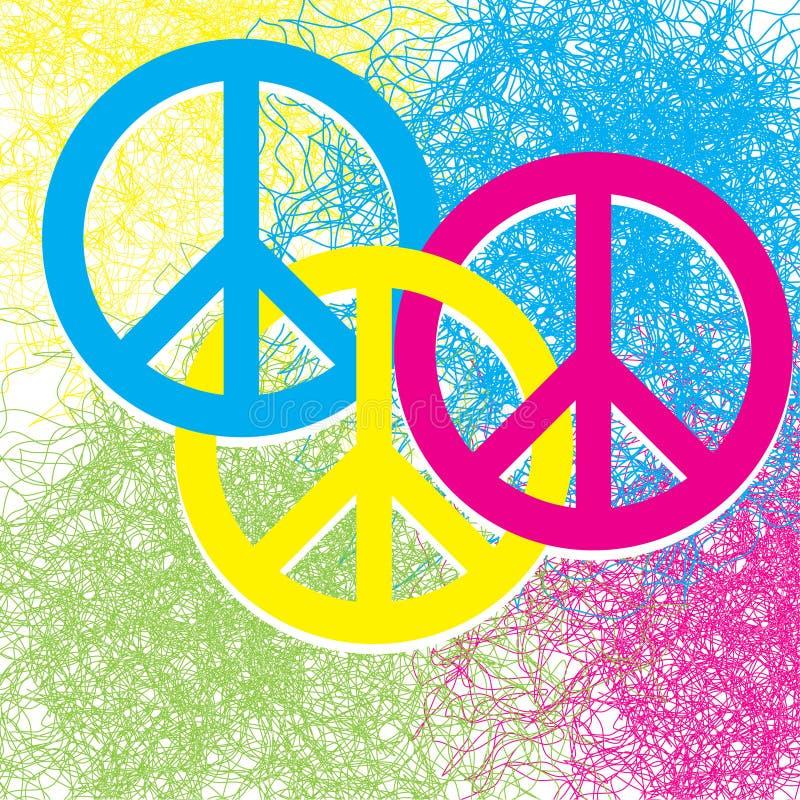 Collegamenti di pace illustrazione vettoriale
