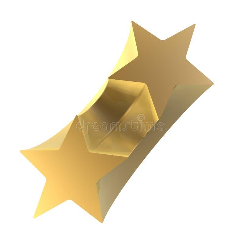Collegamento delle stelle illustrazione vettoriale