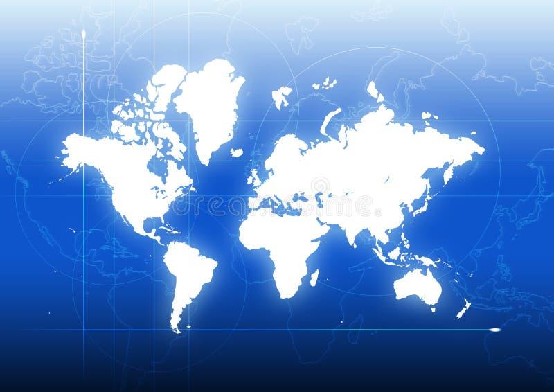 Collegamento globale illustrazione vettoriale