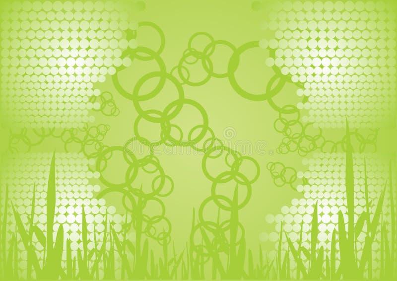 Collegamento verde illustrazione di stock