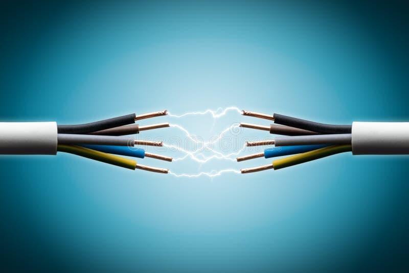 Collegare elettrico immagine stock libera da diritti