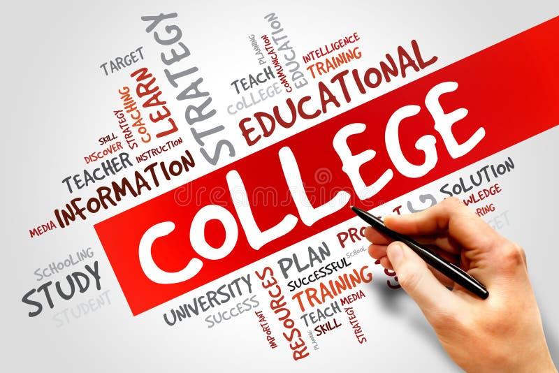 college obraz royalty free