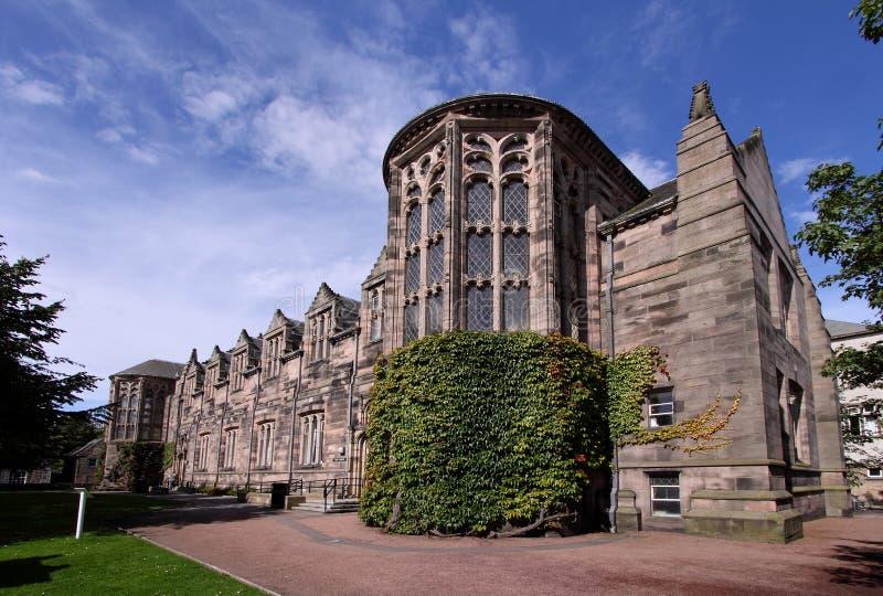 College Building des Aberdeen-Hochschulneuen Königs stockfotos