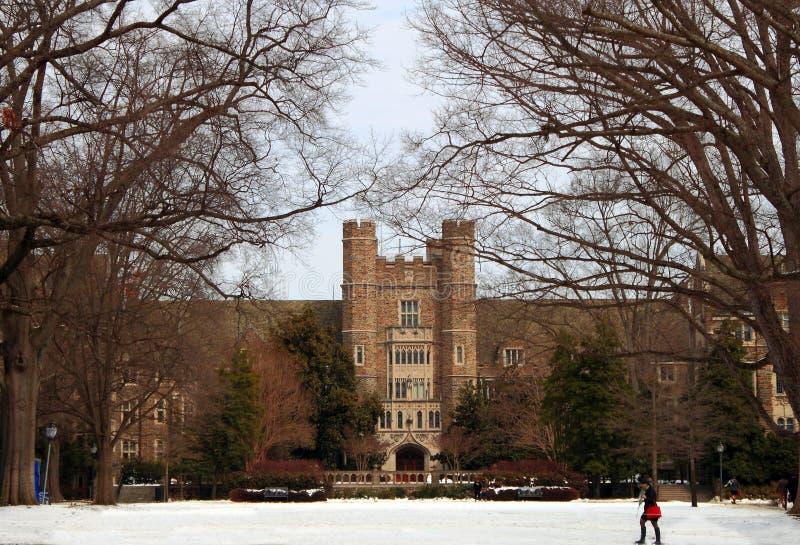 Duke University Campus Building stock images
