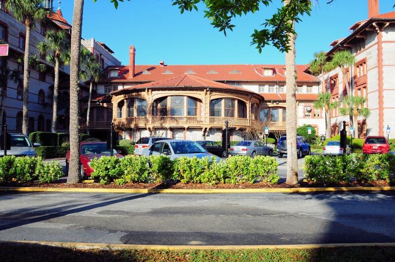 College in der alten Stadt St Augustine, Florida lizenzfreie stockfotografie