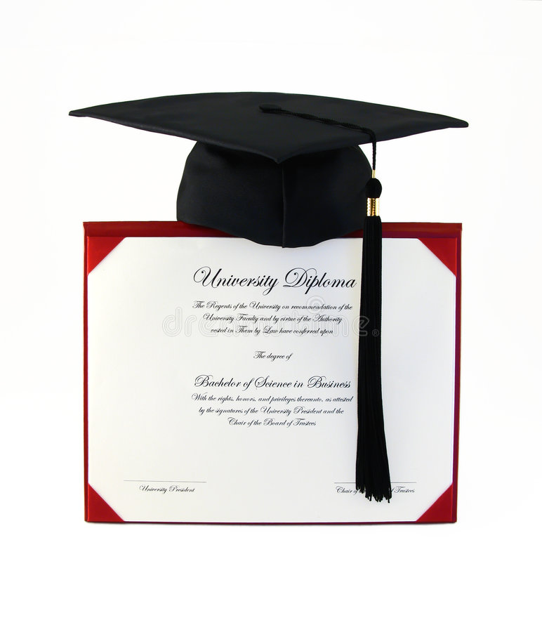 Free College Diploma Stock Photo - 5630630