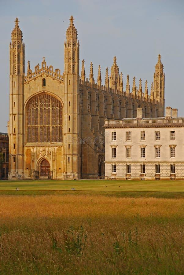 College du Roi à Cambridge image libre de droits