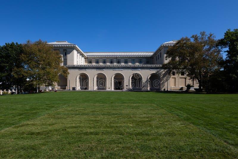 College of Fine Arts in Carnegie Mellon University em Pittsburgh, Pensilvânia, Estados Unidos fotografia de stock royalty free