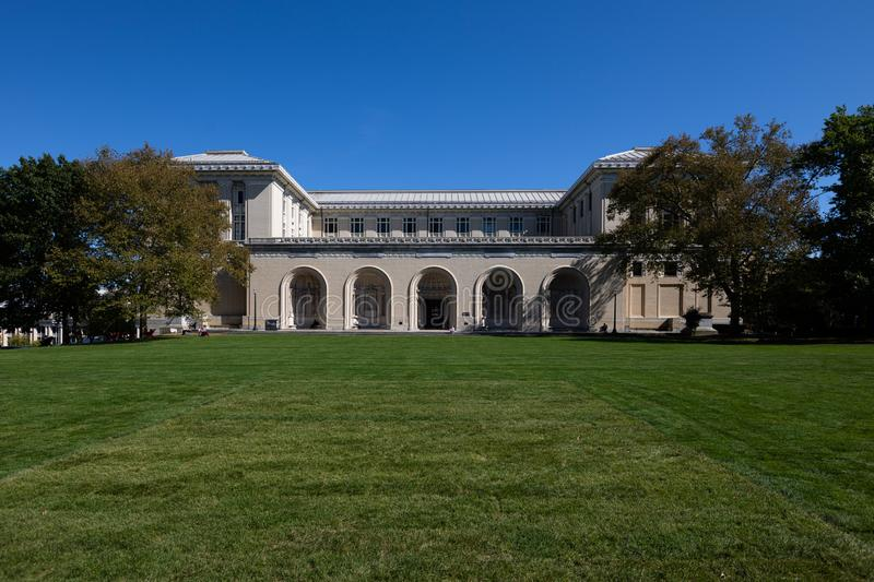 College of Fine Arts in Carnegie Mellon University in Pittsburgh, Pennsylvania, United States.  royalty free stock photography