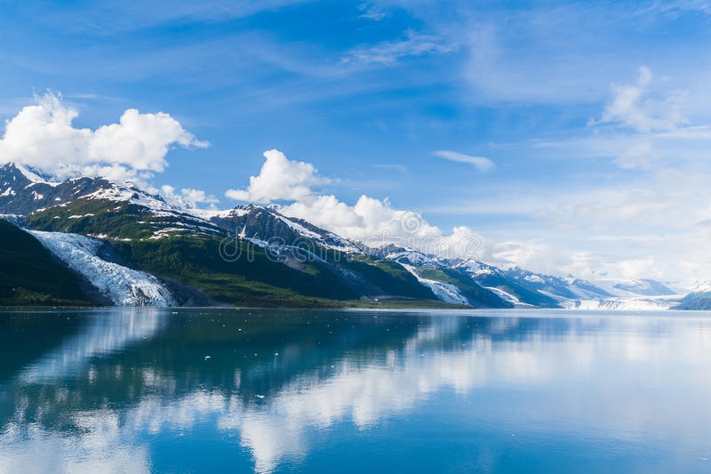 College-Fjord, Alaska lizenzfreie stockfotos