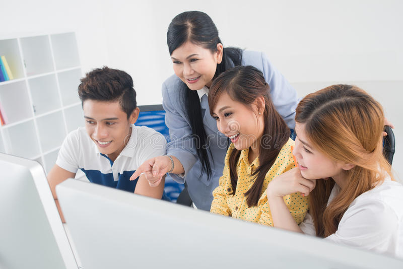 College fun stock photos