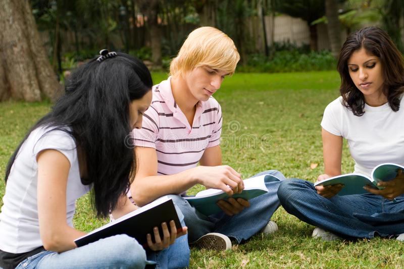 College life royalty free stock photos