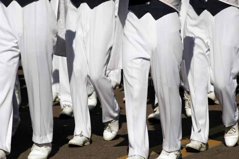 College Marching Band Pants stock photos