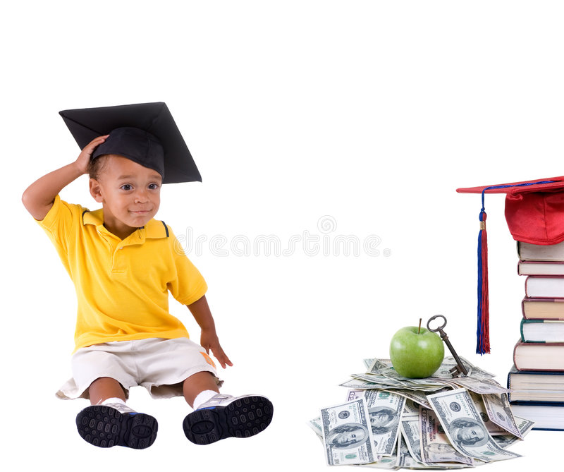 College Money royalty free stock image