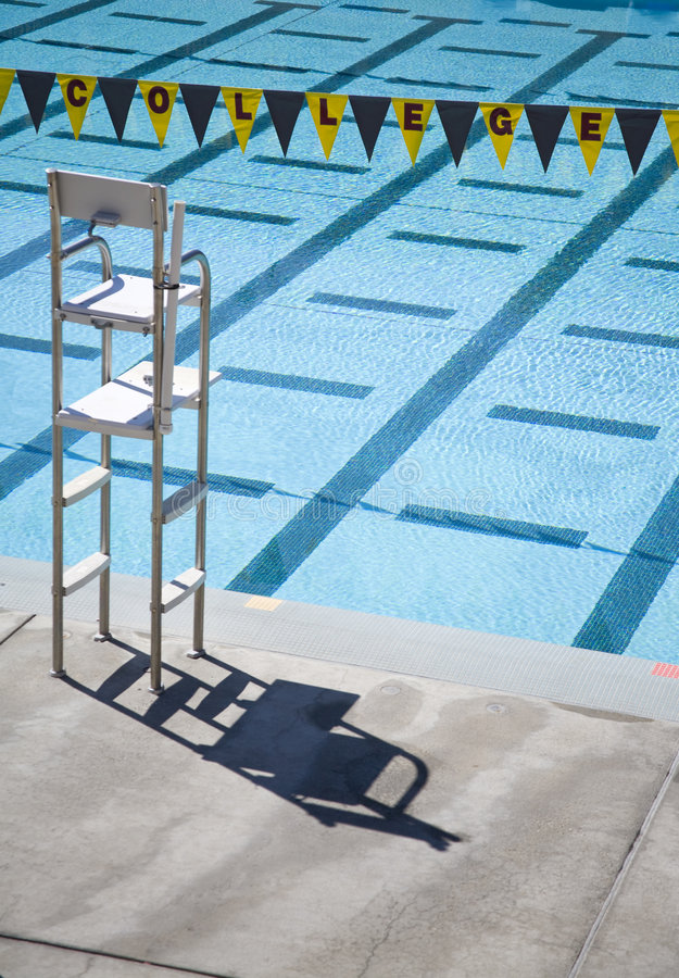 College Pool 1 royalty free stock photos