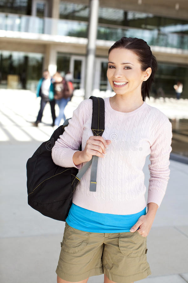College student stock images
