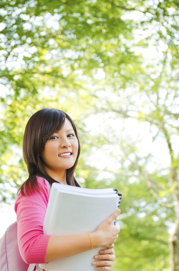 Download College student stock image. Image of casual, notebook - 24946935
