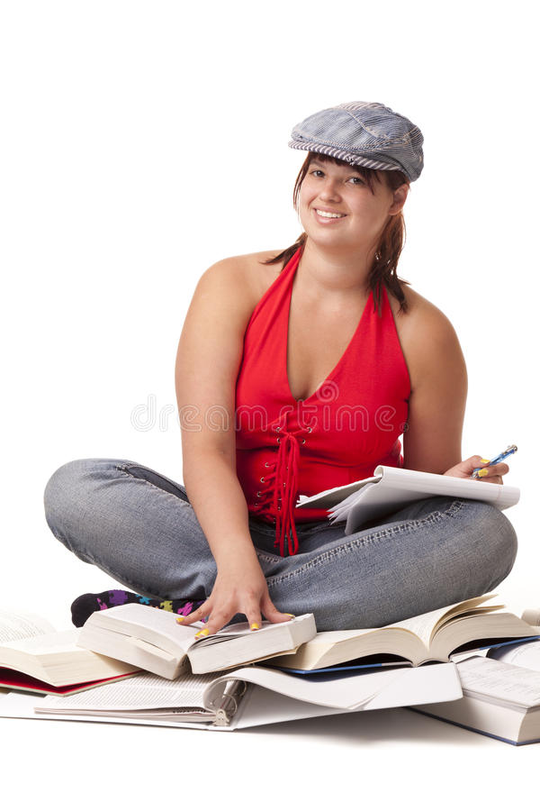 Download College student stock image. Image of portrait, happy - 25317413
