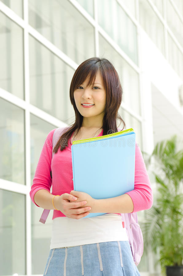 Download College Student stock image. Image of background, female - 25983839