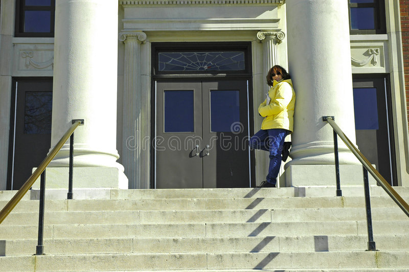 Download College Student 4 stock photo. Image of building, education - 75954