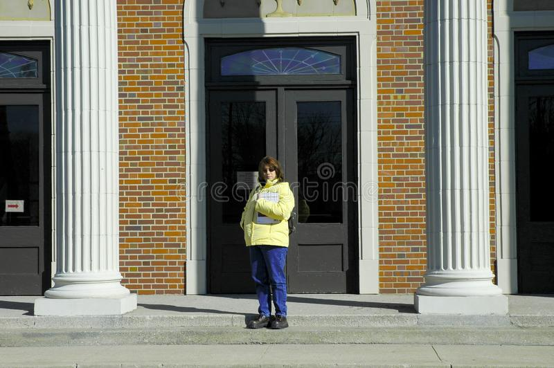 College Student 5 Free Stock Image
