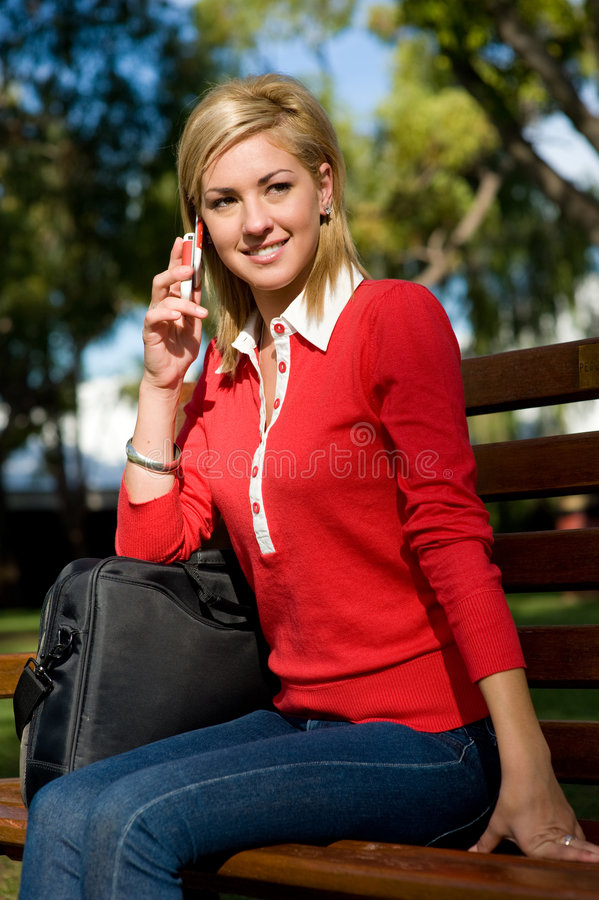 College Student royalty free stock photography
