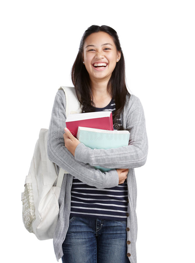 Download College Student Laughing Royalty Free Stock Photography - Image: 24485707