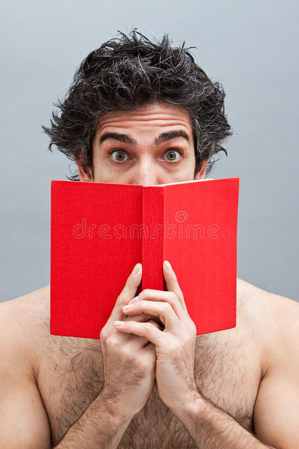 Download College Student Reading An Interesting Book Stock Image - Image of head, handsome: 14322673