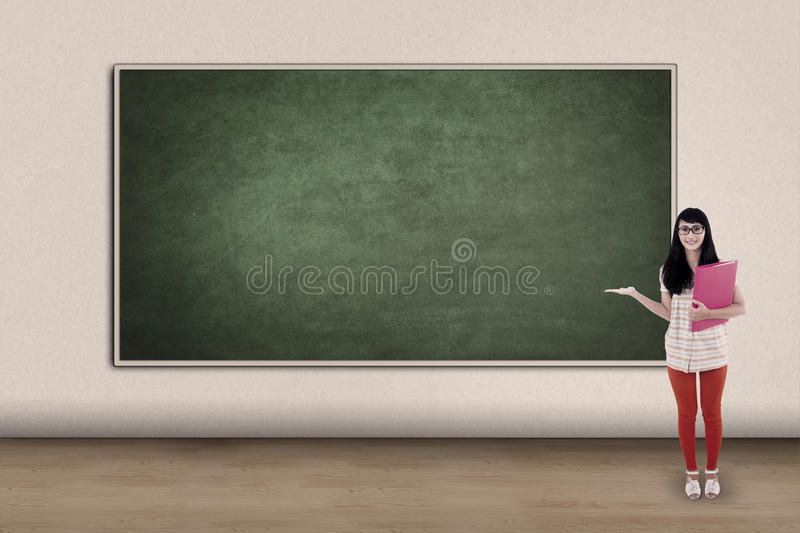 Download College Student Showing Copy Space Stock Photo - Image: 32210756