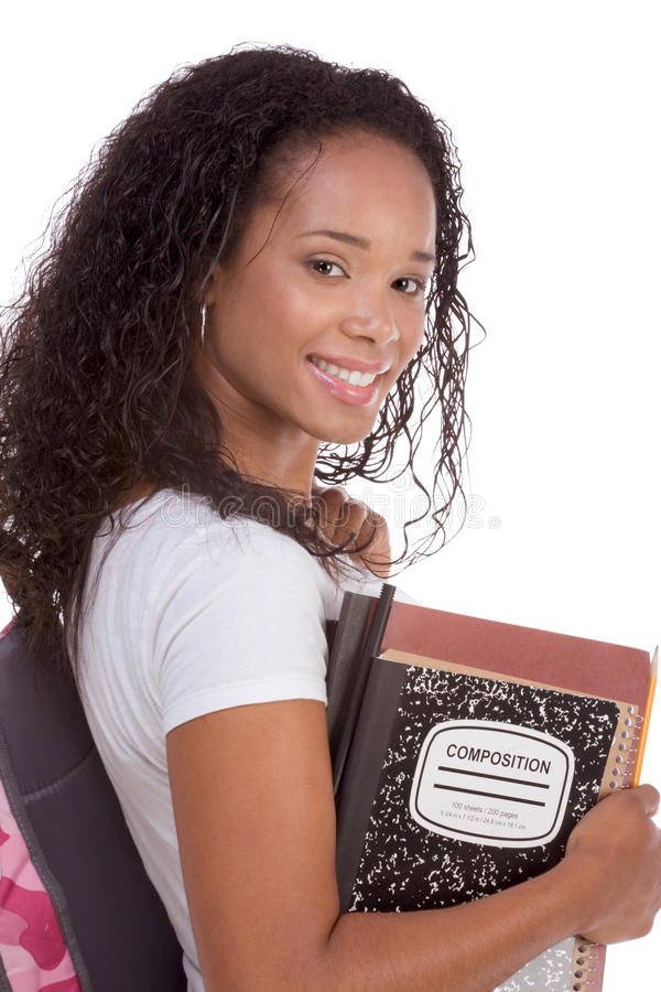 Download College Student Young African American Woman Stock Image - Image: 29234699
