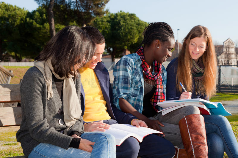 College Students stock image