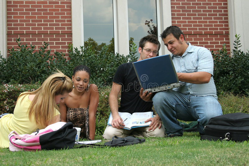 Download College Students stock image. Image of beautiful, cute - 7620199