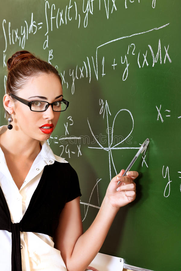 College teacher royalty free stock images