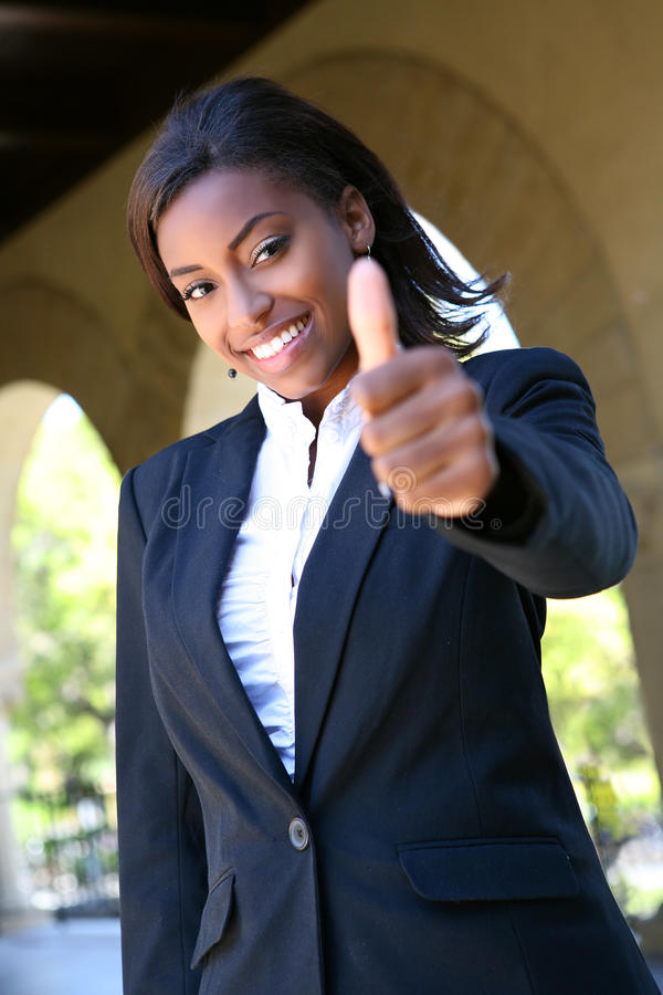 College Woman Success royalty free stock photos
