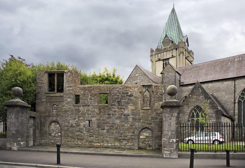 Collegekirche von Sankt Nikolaus in Galway lizenzfreie stockbilder