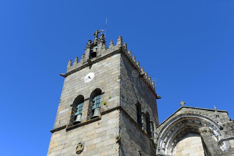 Collegiale Kerk, Guimarães, Portugal royalty-vrije stock foto