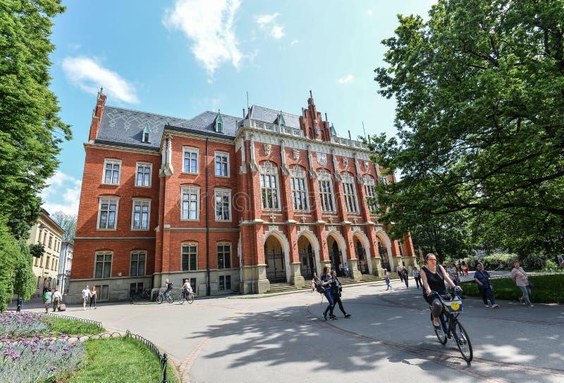 Collegium Maius, Jagiellonian uniwersyteta muzeum w Krakow, Polska fotografia stock
